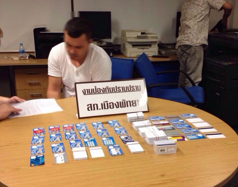 Australian man arrested for credit card scam by Pattaya ...