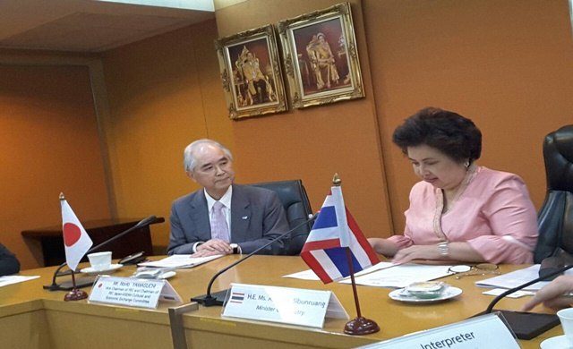 Thailand promotes investment opportunities to Japan