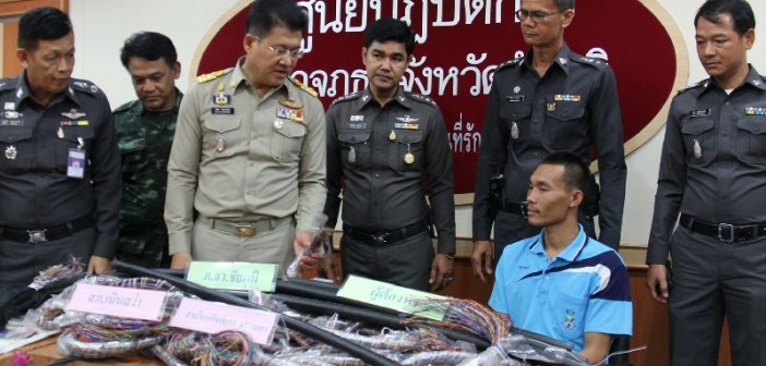 24-year-old Thai man steals phone cables to 'support girlfriends'