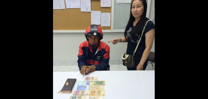 Serial snatch thief caught in Phuket Town